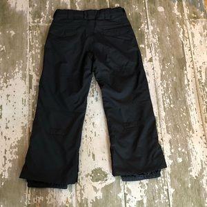 NWT Boys BURTON Black snowpants small winter 7 8